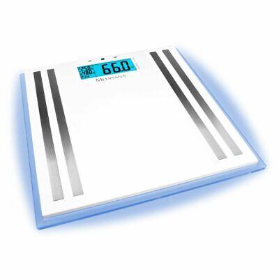 Medisana Bilancia pesapersone analitica digitale LCD per il corpo in vetro ISA