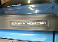 Dodge Challenger Srt8 Spoiler Body Supercharged 3d Domed Self Stick Emblem Sc2