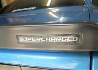 Dodge Challenger Srt8 Spoiler Body Supercharged 3d Domed Self Stick Emblem Sc2