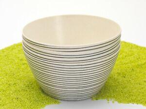 4er-Set-Schalen-Bambus-Streifen-schwarz-550-ml