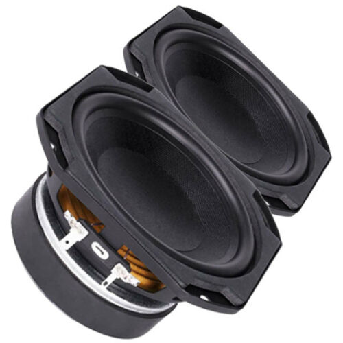 "Pair Faital Pro 5FE100 4ohm 5/"" Woofer Midrange Line Array Replacement Speaker"