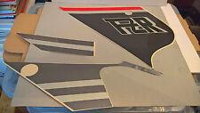 Nos Genuine Yamaha Izquierda Carenado Decal Sticker Gráfico Set 3 3GM-2836V-11 FZR1000