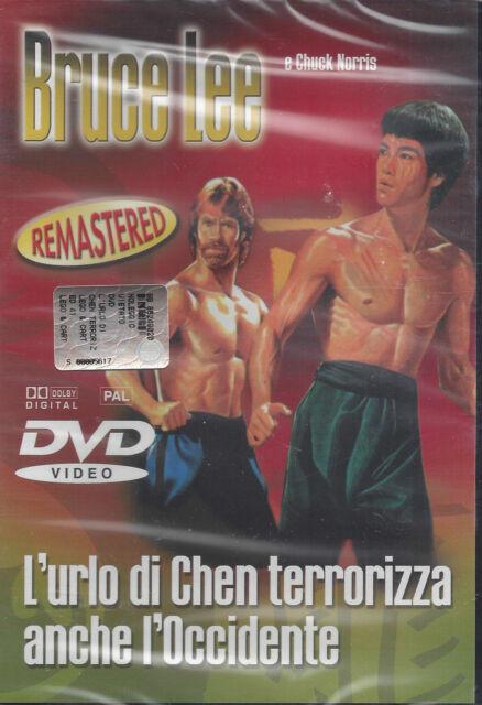 Dvd «BRUCE LEE ♦ L'URLO DI CHEN TERRORIZZA ANCHE L'OCCIDENTE» Chuck Norris 1972