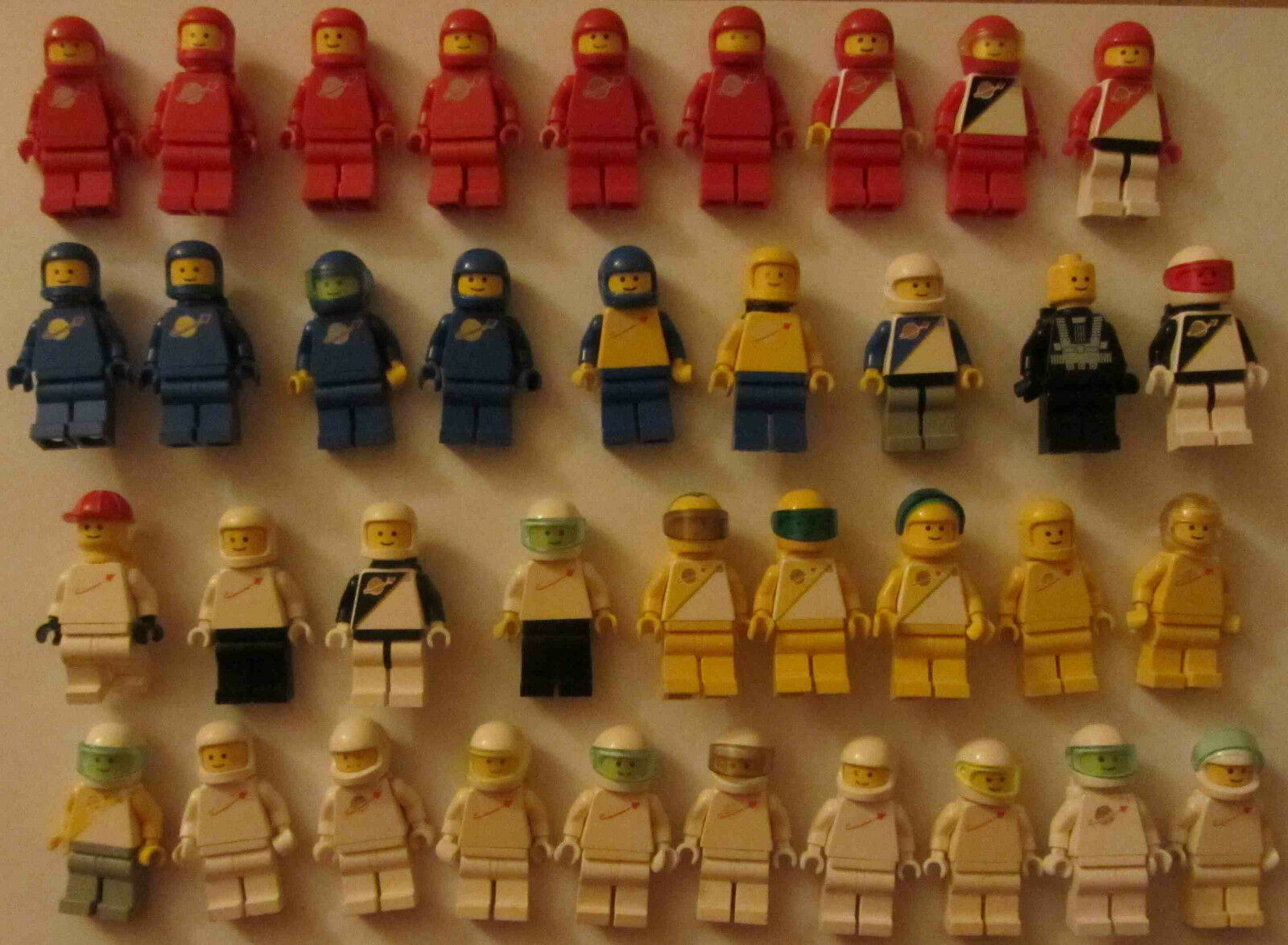 37 Lego Figuren Figuren Figuren Space Weltraum Astronaut Weltall 3e1f70