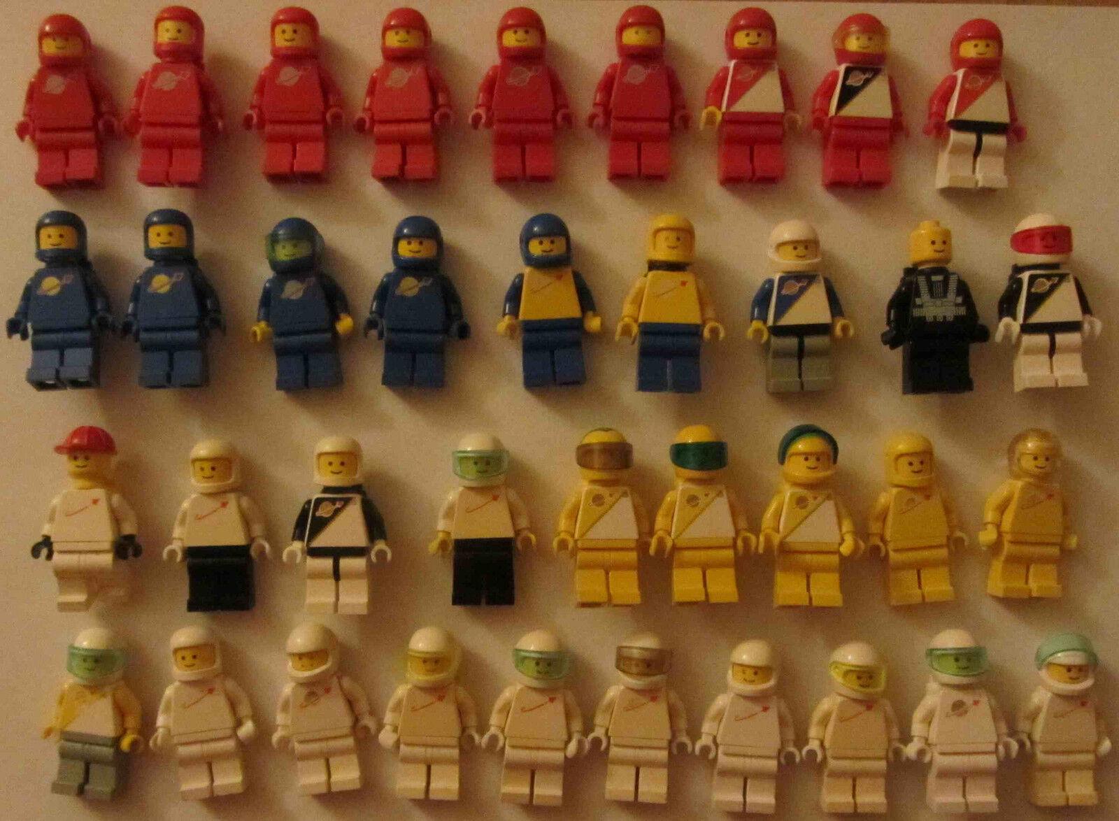 37 Lego Figuren Space Weltraum Astronaut Weltall