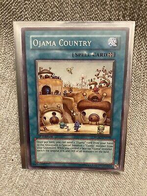 YUGIOH Ojama Country RGBT-EN098 Rare 1st Edition