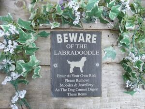 Humorous-Beware-Of-The-Labradoodle-Slate-Dog-Plaque