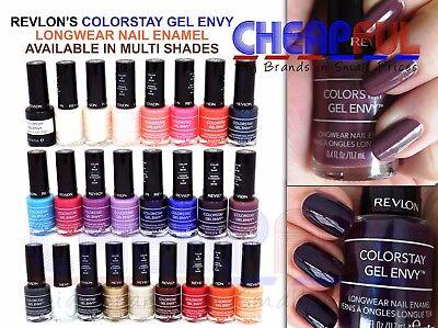 Revlon Colorstay Gel Envy Longwear Nail Enamel Polish Ebay