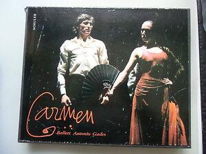 Carmen Ballett Antonio Gades mit Cristina Hoyos Bühnenstück 1985 - Deutschland - Carmen Ballett Antonio Gades mit Cristina Hoyos Bühnenstück 1985 - Deutschland