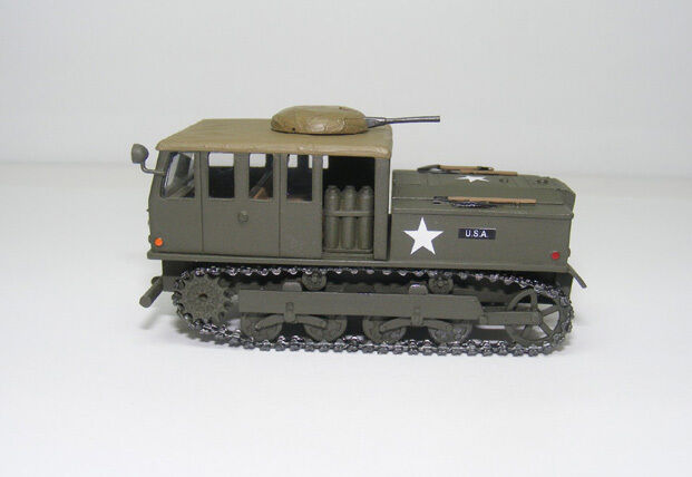 1 72 Tractor 13ton High Speed M5A1 - High Quality Resin KIT by Fankit Models