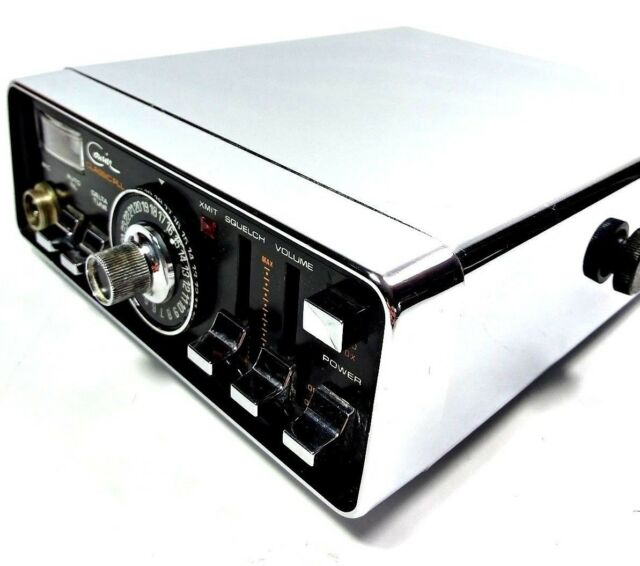 Courier Classic PLL Mobile Citizens Band Solid State 23 Channel CB Transceiver