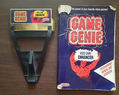 Nes Nintendo Game Genie Gold 7356 Galoob With Official Original