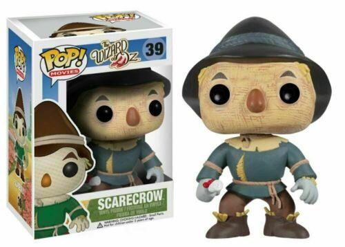 Funko POP The Wizard of OZ Tin Man Scarecrow Cowardly Lion #38 #39
