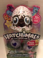 HATCHIMALS CollEGGtibles - Mini Hatching Eggs 2 Pack + NEST - Season 1