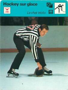 """FICHE CARD:Arbitre Bob Hodges Canada """"Hat trick"""" Hockey sur glace ICE HOCKEY 70s - France - EBay Jeux Olympique Olympic GamesPORT EUROPE GRATUIT A PARTIR DE 4 OBJETSBUY 4 ITEMS AND EUROPE SHIPPING IS FREE FICHE FRANCE ANNEES 70s ETAT VOIR PHOTO FORMAT 16 CM X 12 CM SIZE : 6.29 """" X 4.72 """" inch FICHE SPORTHOCKEY SUR GLACE.2 - France"""