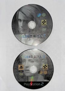Silent-Hill-2-amp-Making-of-DVD-ps2-Sony-Playstation-2-Videospiel-VGC-DISCS-nur