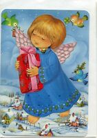 Angel Advent Calendar With Envelope From Denmark 900030a