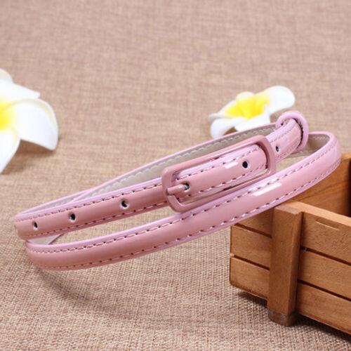 Women/'s Narrow Waist Belt Waistband Fashion Thin Waist Band Blet For Dress New