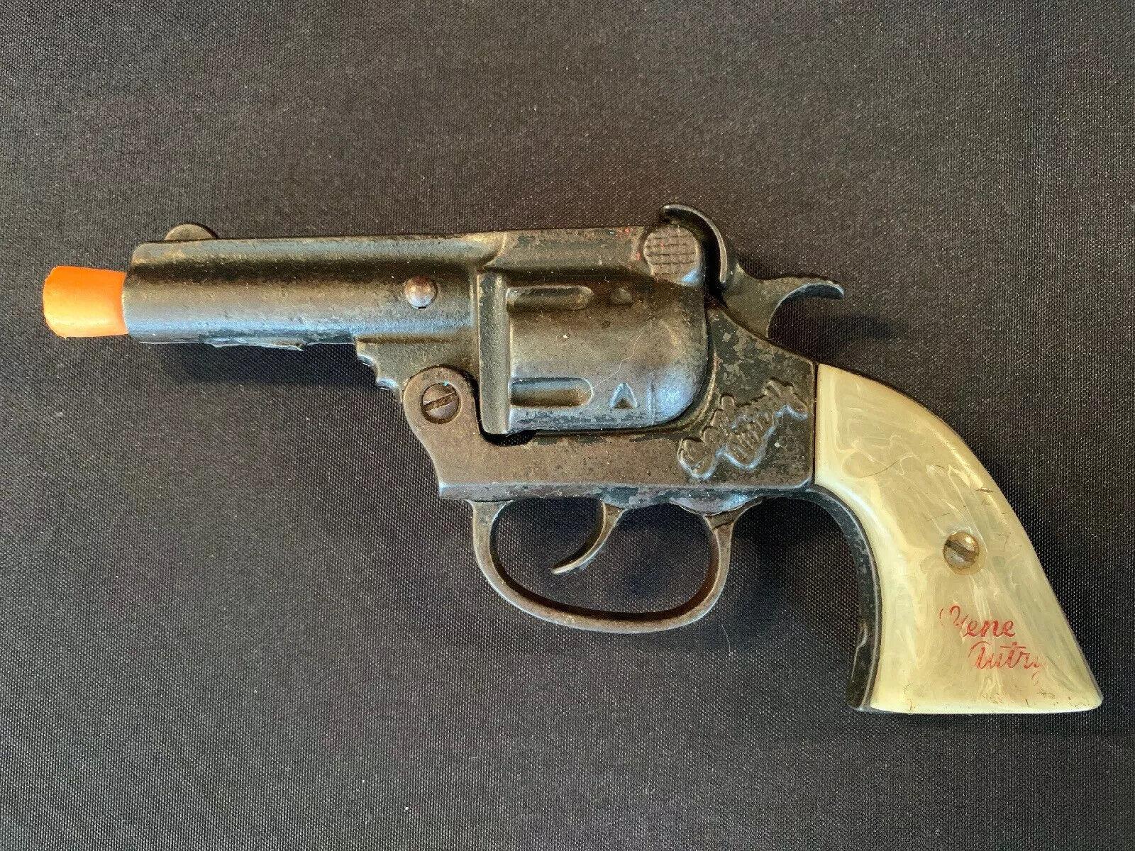 ビンテージ1940年代1950年代ジーンオートトリーケントリーおもちゃキャップ銃