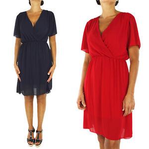 low priced 077b4 ce8e4 Abito Donna Corto Vestito Abitino Elegante Sexy Cerimonia ...
