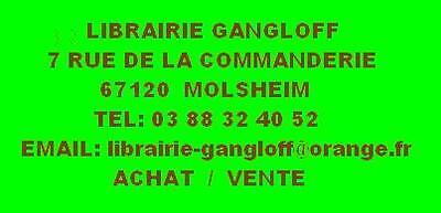 LIBRAIRIE GANGLOFF