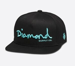 DIAMOND-SUPPLY-CO-OG-SCRIPT-SNAPBACK-BLACK