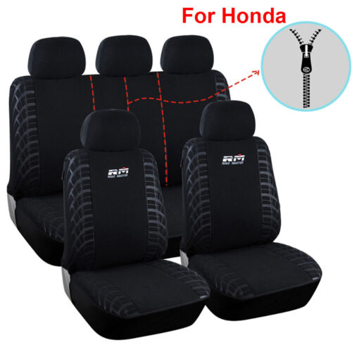 9PCS Polyester Car Seat Cover Universal Accessories Fit for Honda CRV Accord HRV
