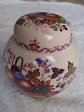 Masons mason's ginger jar ceramic ceramica fruit basket