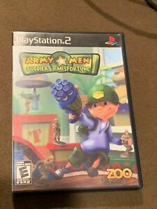 Sony-PlayStation-PS2-Army-Men-Soldiers-of-Misfortune-Video-Game-Rated-E