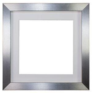 memory box 3d deep silver box frame range picture photo. Black Bedroom Furniture Sets. Home Design Ideas