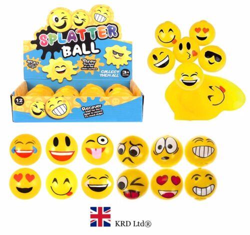Bambini SPLAT Smiley Palla sorridente SPLATTER Schiuma Stress Sollievo Fidget Giocattolo Sensoriale