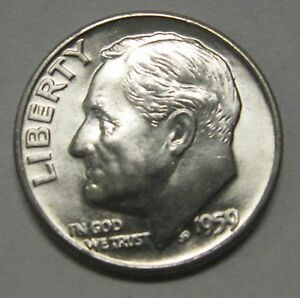 Roosevelt Dime First Year of Issue *DUTCH* 1946-D B.U