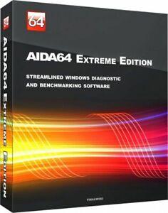 Aida 64 Extreme Lifetime License Lien De Téléchargement + Global Clé-afficher Le Titre D'origine Doux Et Doux