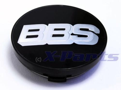 BBS Cerchi Coperchio emblema cromo nero argento 70mm bb0924494 NUOVO con fermi anello