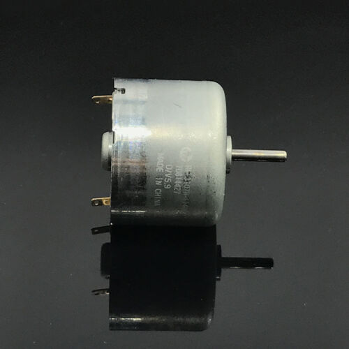 MABUCHI RF-310TH-11400 DC 3V-6V 5.9V 24mm Diameter Round Mini Motor 9mm shaft