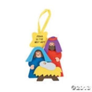 3 Jesus Is The Best Gift Nativity Kids Christmas Sunday School Craft