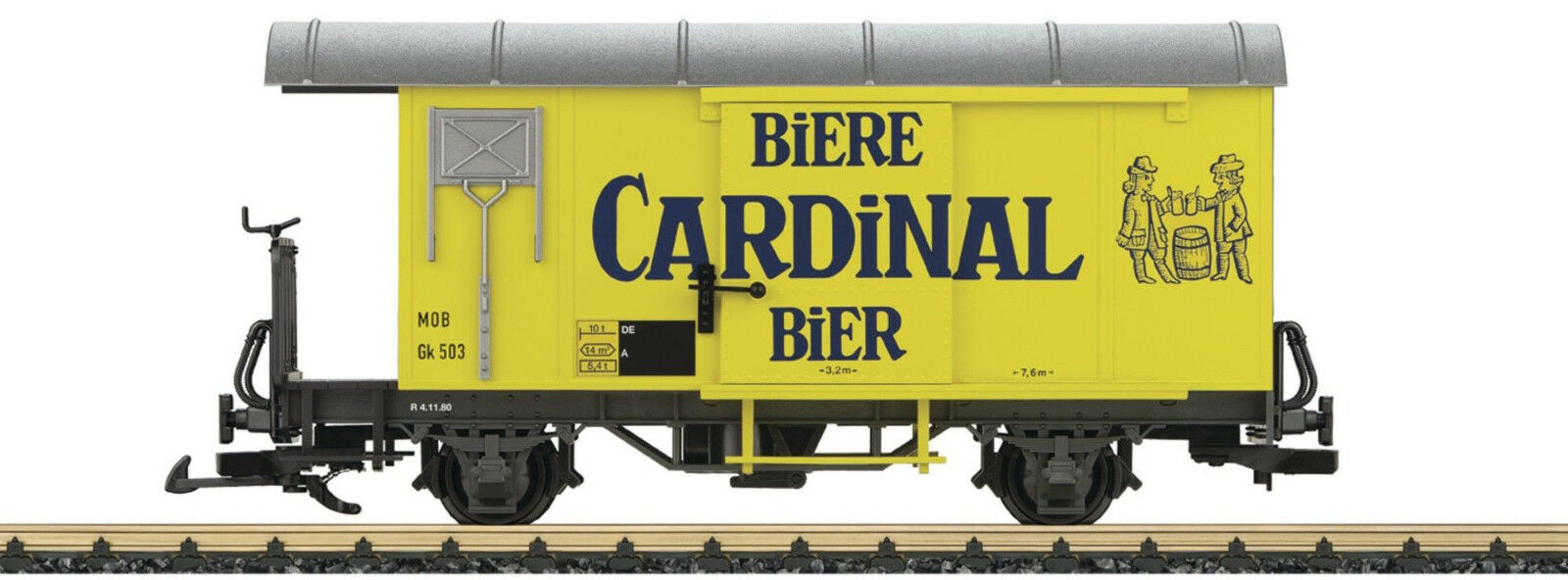 LGB 40284-con cena vagones GK Cochedinal cerveza Mob