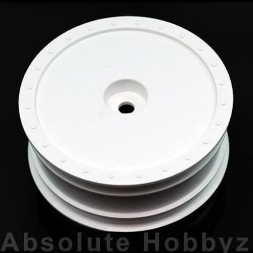 - DE Racing 1//10 Borrego White Wheel Kyosho RB5 // AE B4 with Hex front