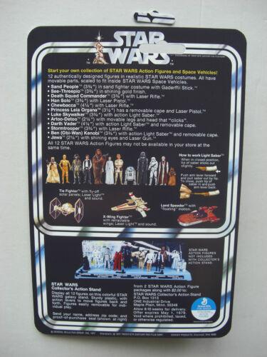 Vintage Star Wars Krayt Dragon Dune Sea reste Custom sur new hope style carte