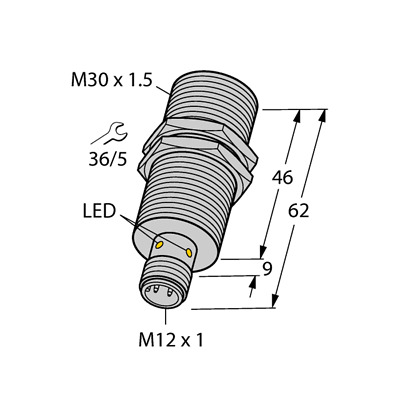 TURCK BI10U-M30-VN4X-H1141 1582352 Inductive sensor NPN. | eBay | Turck Npn Sensor Wiring Diagram |  | eBay