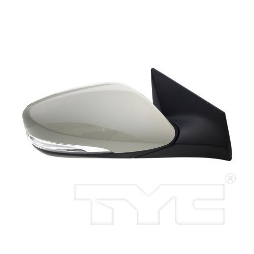 Right Passenger Side Mirror Fits 14-16 Hyundai Elantra Power Heated w//Signal