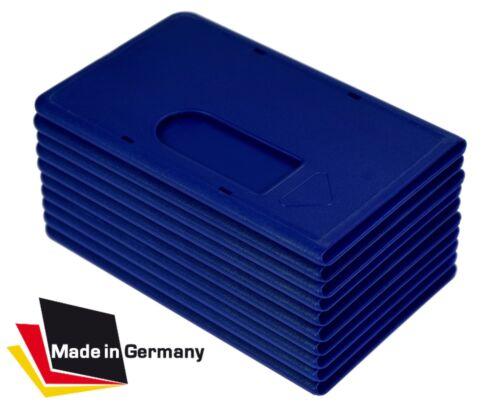 1-50 x EC Kartenhülle EXTRA STABIL dunkelblau Kreditkartenhülle Scheckkartenbox