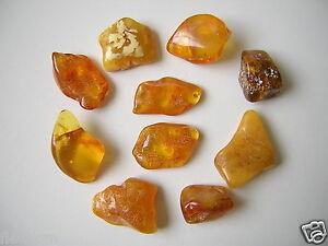 1,7-3,4 G 10 X Honig Natur Bernstein Poliert = 26 G Genuine Amber Chinesische Aromen Besitzen