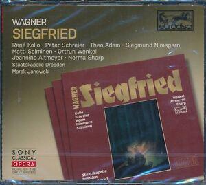 Wagner-Siegfried-CD-NEW-Rene-Kollo-Peter-Schreier-Theo-Adam