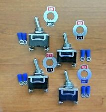 4 Bbt 2 Position 20 Amp Toggle Switches With Terminals