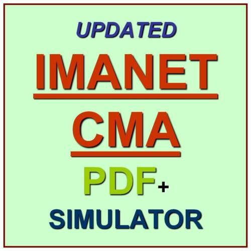 IMANET CMA Certified Management Accountant Test Exam QA SIM PDF+Simulator
