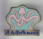 RARE PINS PIN'S .. ANIMAL POISSON FISH PIEUVRE POULPE OCTOPUS LA BELLE MAREE ~C7