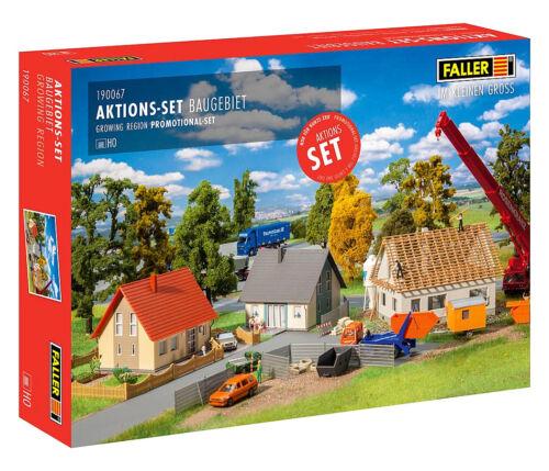 + Faller 190067 h0 acción-set la zona de construcción nuevo embalaje original /&