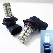 LED 9006-HB4 6000K Super White Xenon 18 SMD 12V Headlight #d14 2x Bulb Low Beam