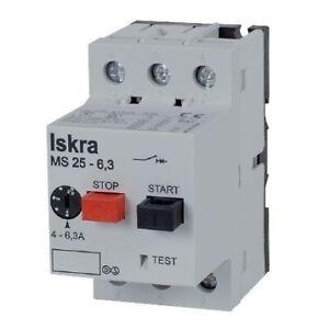 Interruttore salvamotore 6,3/10A - ISKRA - MST25-10